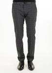 Pánské kalhoty  informal slim, barva šedá