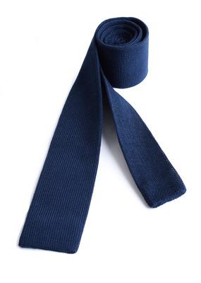 Kravata informal slim, barva modrá