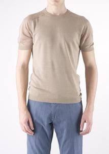 Pánský svetr  regular, barva béžová