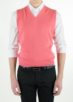 Pánský svetr informal regular, barva červená