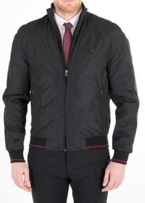 Pánská bunda informal regular, barva černá