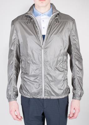 Pánská bunda sport regular, barva šedá