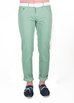 Pánské kalhoty   slim, barva zelená