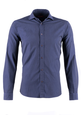 Košile Blažek Jeans slim, barva modrá