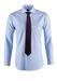 Košile formal regular, barva modrá