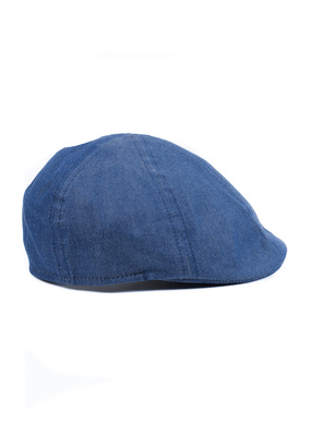 Čepice casual , barva modrá