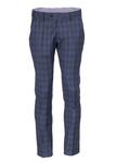 Kalhoty  formal slim, barva modrá