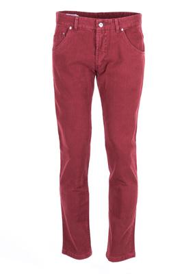 Kalhoty  Blažek Jeans slim, barva vínová