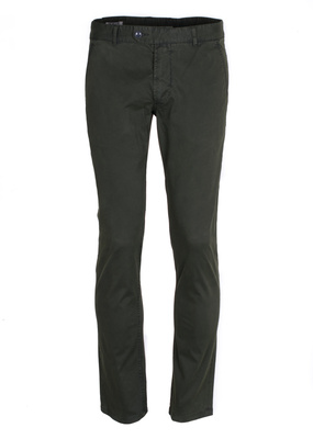 Kalhoty  Blažek Jeans slim, barva zelená