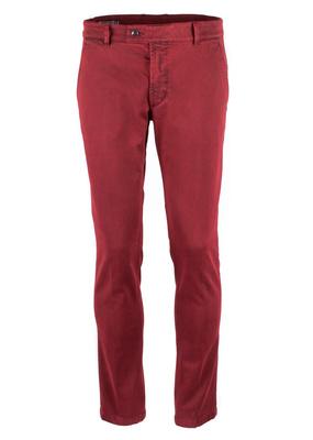 Kalhoty  Blažek Jeans slim, barva červená