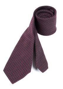 Kravata formal slim, barva vínová