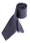 Kravata formal regular, barva šedá