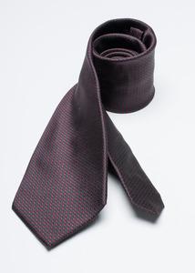 Kravata formal regular, barva modrá, vínová