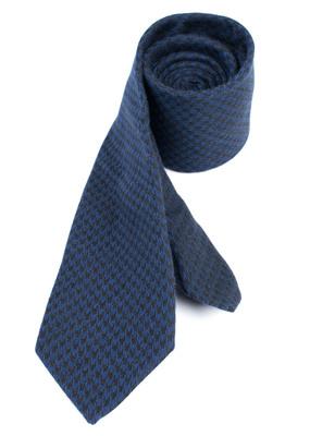 Kravata formal regular, barva modrá