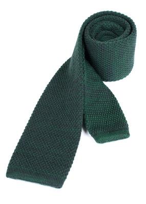 Kravata Blažek Jeans slim, barva zelená