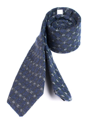 Kravata Blažek Jeans slim, barva modrá
