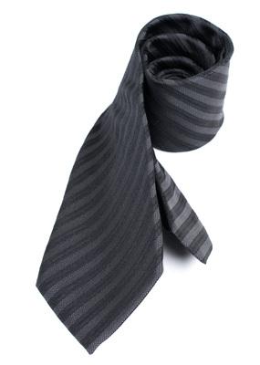 Kravata formal regular, barva černá
