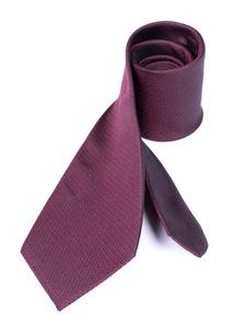 Kravata formal regular, barva vínová