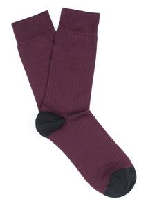 Ponožky informal , barva vínová