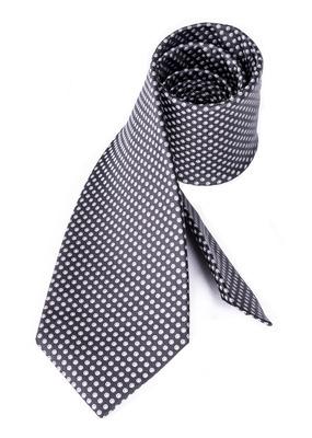 Kravata formal , barva bílá, černá