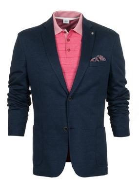 Pánské sako informal regular, barva modrá