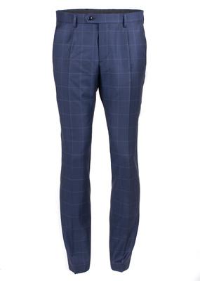 Pánské kalhoty  formal regular, barva modrá