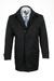 Plášť informal regular, barva černá