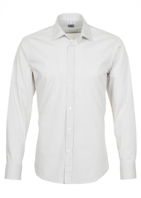 Pánská košile informal regular, barva béžová