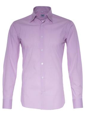 Pánská košile informal regular, barva růžová
