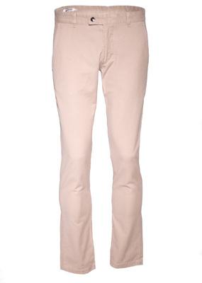 Pánské kalhoty informal slim, barva hnědá