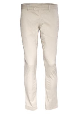 Pánské kalhoty Blažek Jeans slim, barva béžová