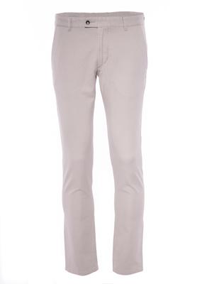 Pánské kalhoty informal slim, barva béžová