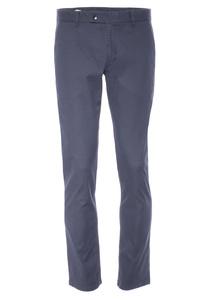 Pánské kalhoty informal slim, barva modrá