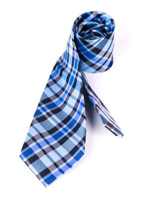 Kravata informal regular, barva modrá