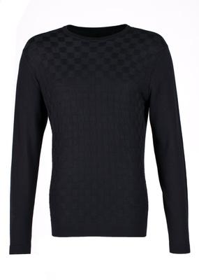Svetr Blažek Jeans regular, barva černá