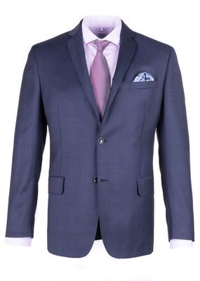 Pánské sako formal regular, barva modrá