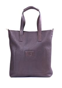 Pánská kožená taška  regular, barva hnědá