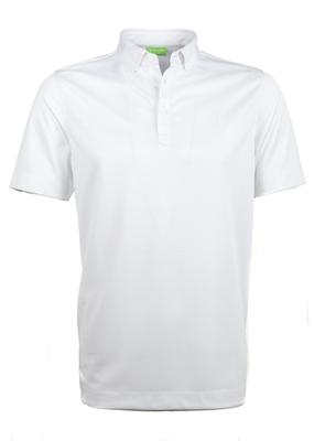Polo triko informal regular, barva bílá
