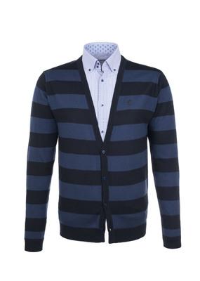Svetr Blažek Jeans , barva černá, modrá