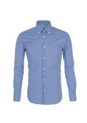Pánská košile Blažek Jeans , barva modrá