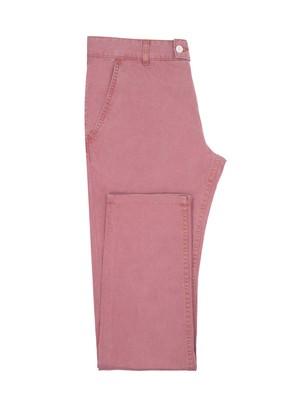 Pánské kalhoty Blažek Jeans slim, barva červená