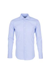 Pánská košile formal , barva bílá, modrá