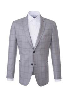 Pánské sako informal , barva šedá