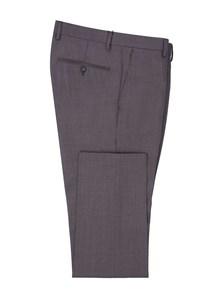 Pánské oblekové kalhoty formal , barva hnědá
