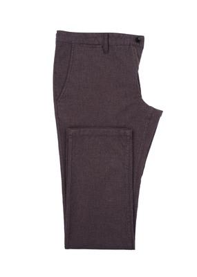 Pánské kalhoty Blažek Jeans , barva hnědá