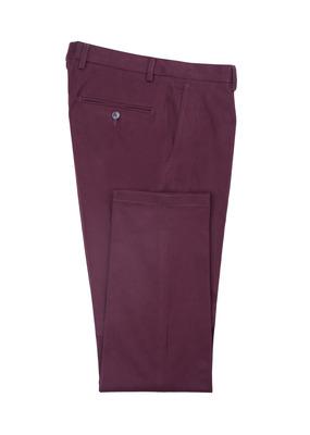 Pánské kalhoty informal , barva vínová