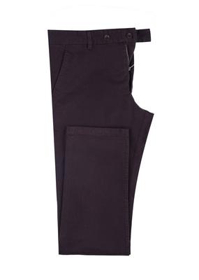 Pánské kalhoty Blažek Jeans , barva tmavě hnědá