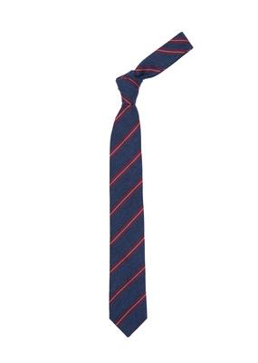 Kravata Blažek Jeans , barva modrá, červená