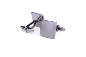 Manžetový knoflíček formal , barva stříbrná