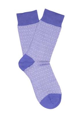 Ponožky casual , barva modrá